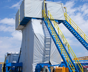 Equipment Protection | Drilling Rig Enclosure
